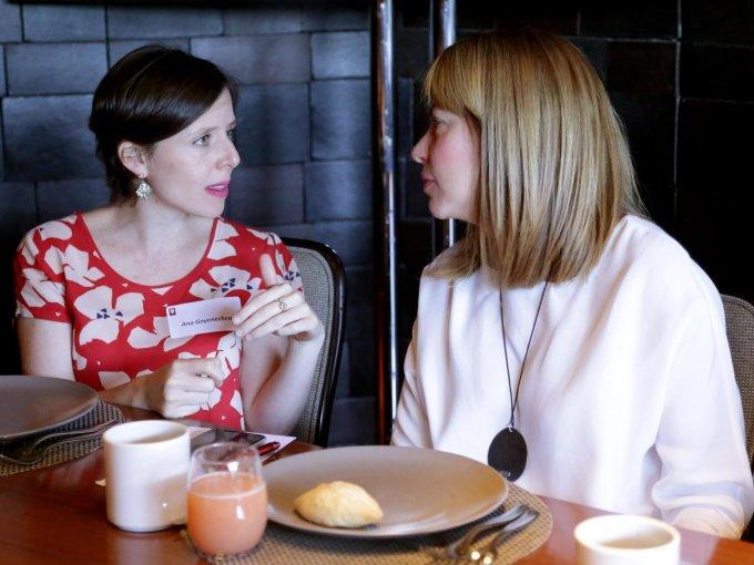 Ana Goyenechea y Mariana Torres
