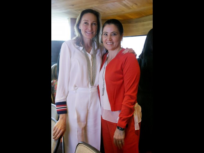 Alejandra Alemán y Alicia Lebrija