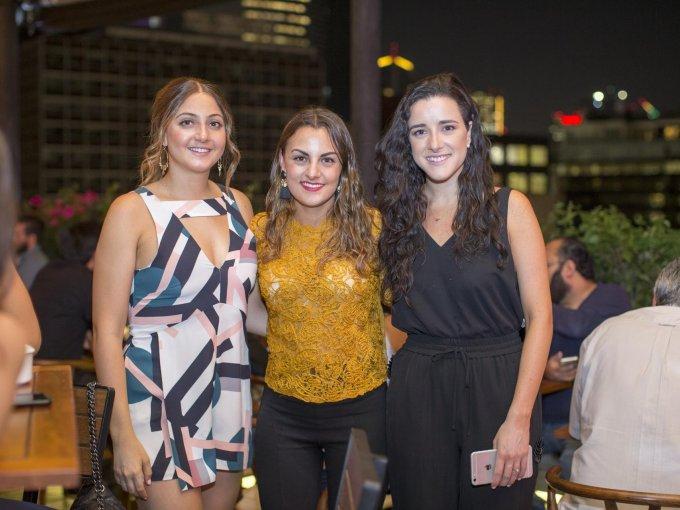 Rox Rassam, Sofía Duarte y Lucía Fernández