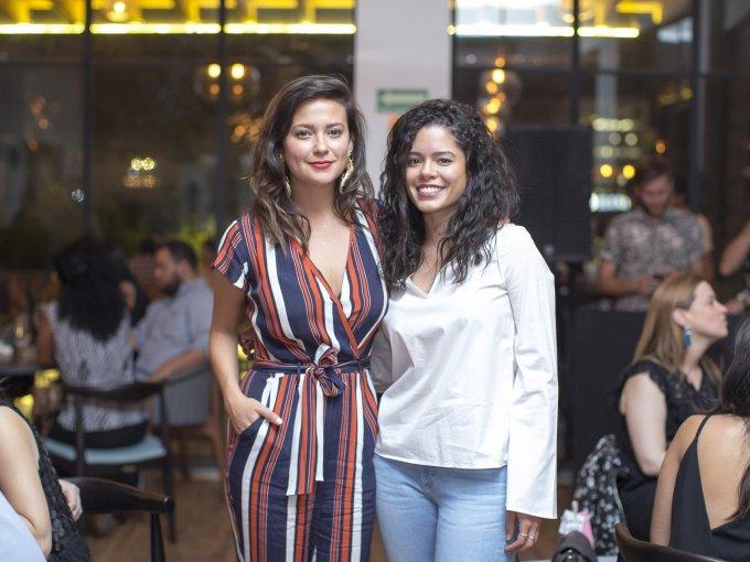 Elly Van Os y Mónica Núñez