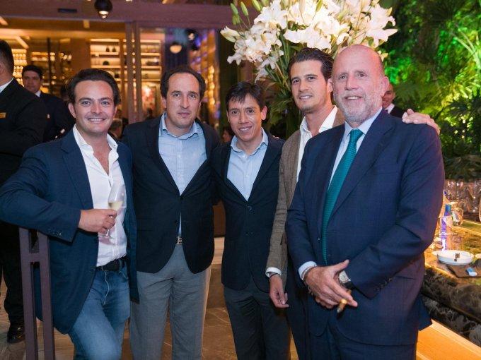Pepe Cuaik, Alfredo Valle, Juan Manuel Valle, Andrés Gabito y José Martínez Vertiz