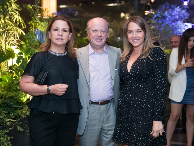 Patricia Arellano, Eduardo Solórzano y Natalia Zartuche