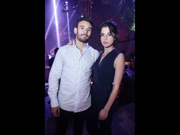 Esteban Machado y Lorena Ramírez