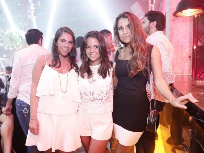 Jimena de la Vega, Nicole Urich y Ana Hernández