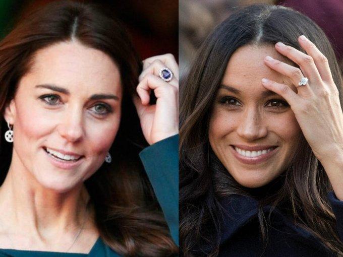 Enormes y hermosos, mira las fotos de los anillos de compromiso en la realeza: