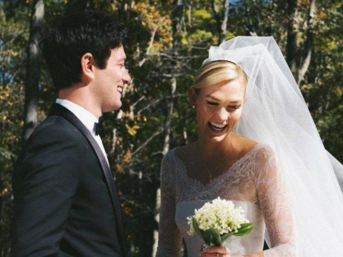 Karlie Kloss y Joshua Kushner