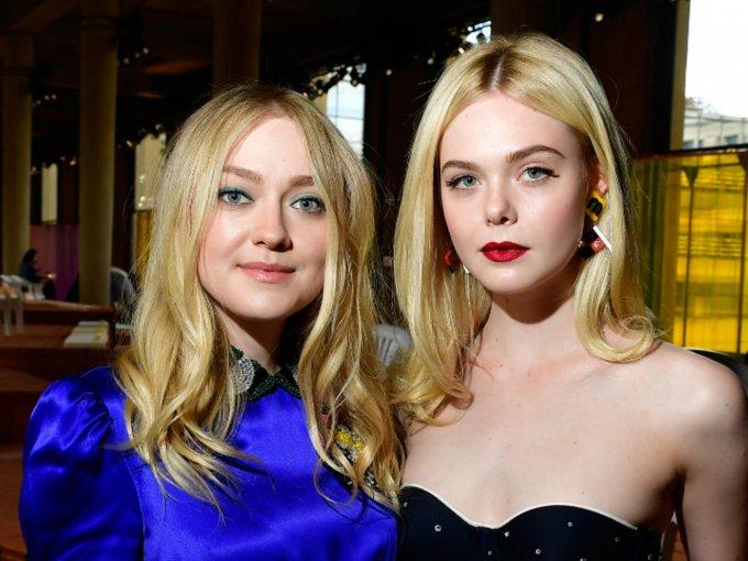 La modelo y cantante estadounidense, Elle Fanning es la hermana menor de la actriz Dakota Fanning. Ambas son exitosas y desde muy pequeñas comenzaron su carrera: