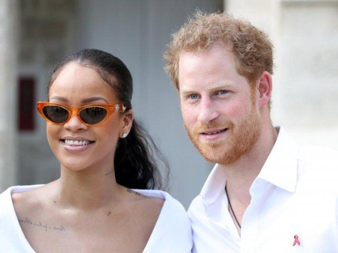 Rihanna y el Príncipe Harry