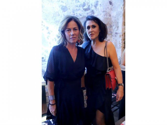 Lourdes Méndez y Leticia Sahagún.
