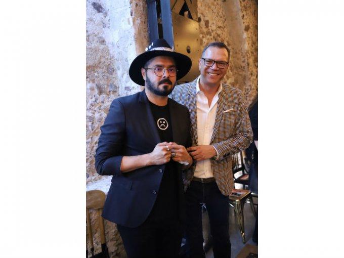 Juan Pablo Gallegos y Bruce James
