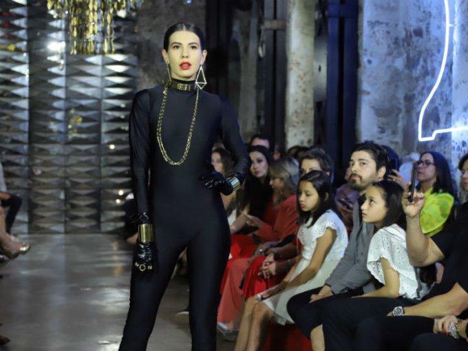 Por primera vez, Bárbara López Vie no colaboró con marcas de ropa para destacar las piezas de oro.