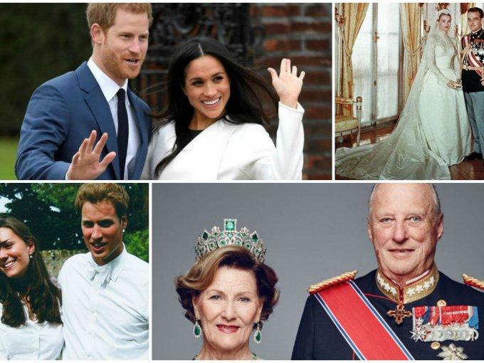 Ellos tuvieron la suerte de encontrar el amor y convertirse en miembros de la realeza.