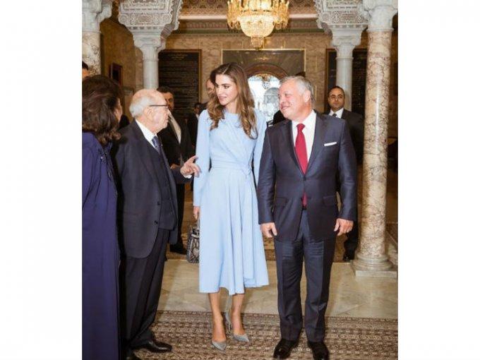 El rey Absullah asumió el trono en 1999 y desde entonces la reina Rania es una de las más aplaudidas por su estilo.