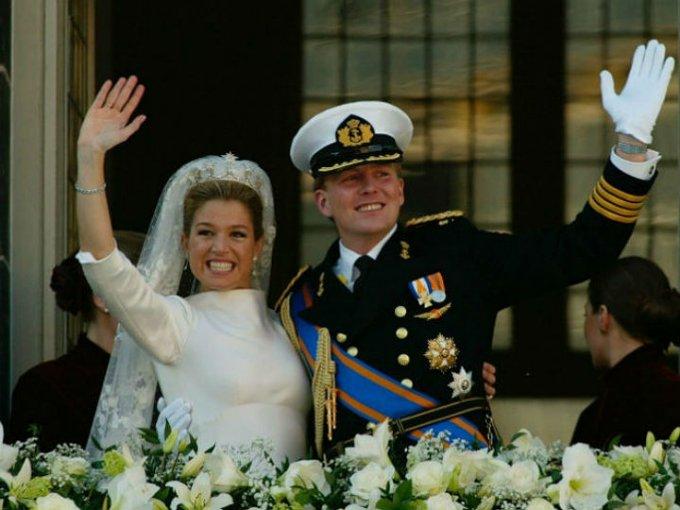 La argentina y el príncipe de Países Bajos se casaron en 2002 y en 2013, se convirtieron en reyes de Países Bajos.
