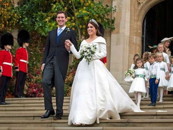 Jacl Brooksbank, empresario británico, se convirtió en miembro de la realeza cuando se casó con la princesa Eugenia en 2018.