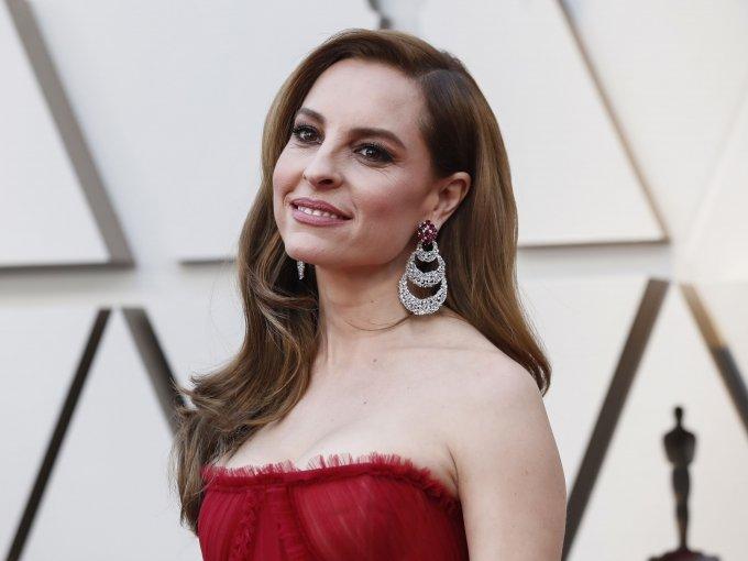 Marina de Tavira optó por un precioso vestido rojo.