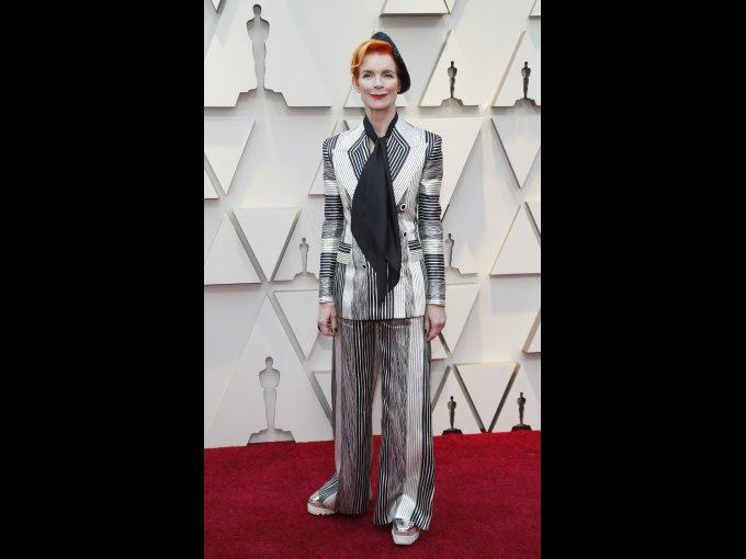 La diseñadora de vestuario Sandy Powell.