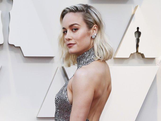 Brie Larson deslumbró a su paso.