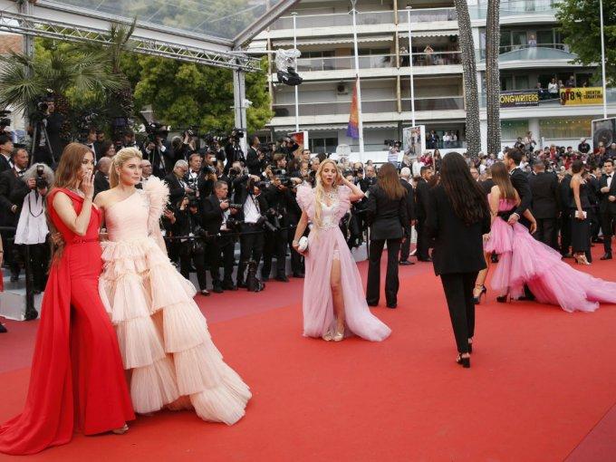 El Festival de Cannes comenzó y uno de sus eventos más glamourosos es la alfombra roja.
