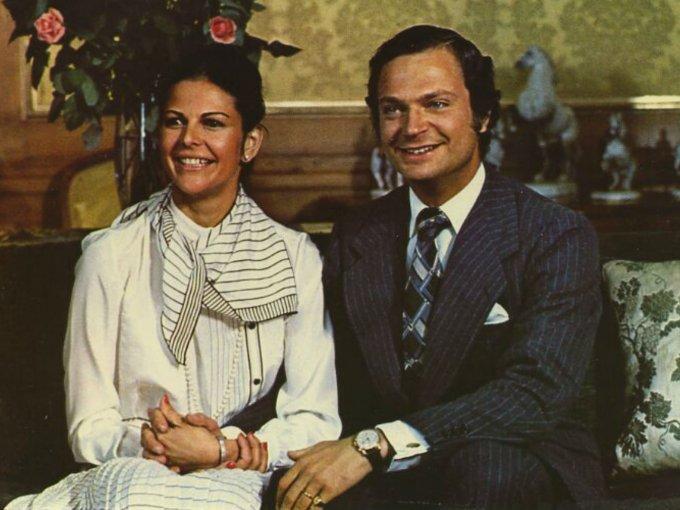 Silvia Sommerlath era anfitriona en los Juegos Olímpicos de Munich cuando conoció al príncipe Carl Gustaf de Suecia.
