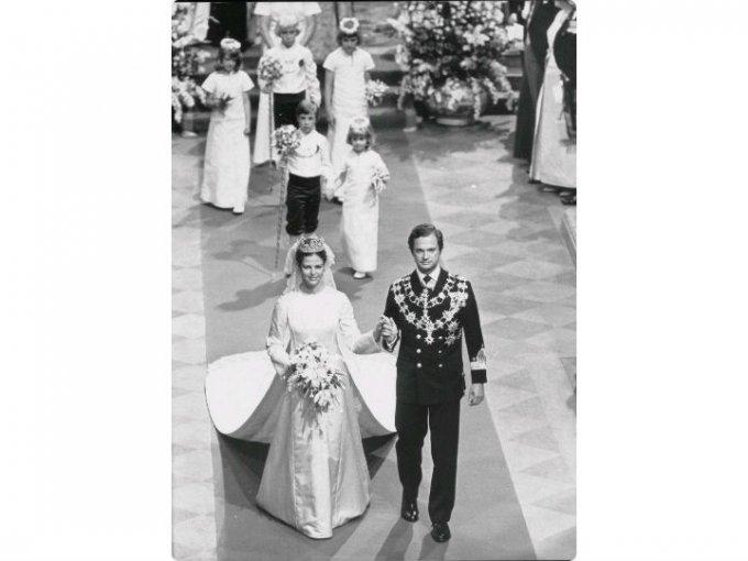 La pareja se casó en 1976, tres años después de que el príncipe asumiera el trono.