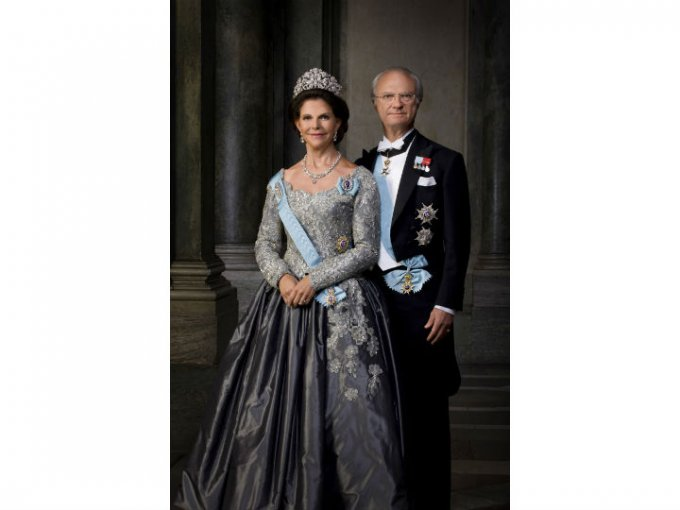 Actualmente son reyes de Suecia.