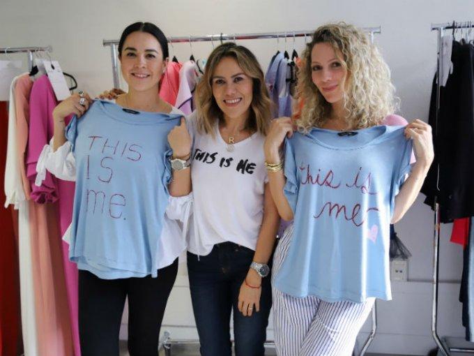 Paola Escalante, Raquel Orozo y Zarina Rivera