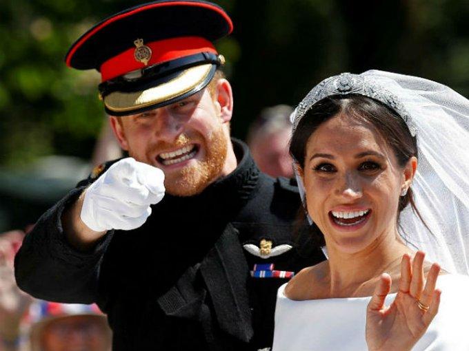 Finalmente en mayo de 2018 se casaron y se convirtieron en los duques de Sussex.