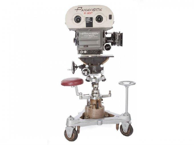 La cámara Panavision con la que George Lucas filmó el Episodio IV fue vendida en 625 mil dólares.