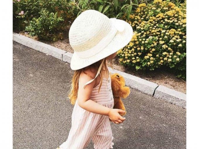 Muchas de sus fotos la muestran con un estilo bastante relajado.