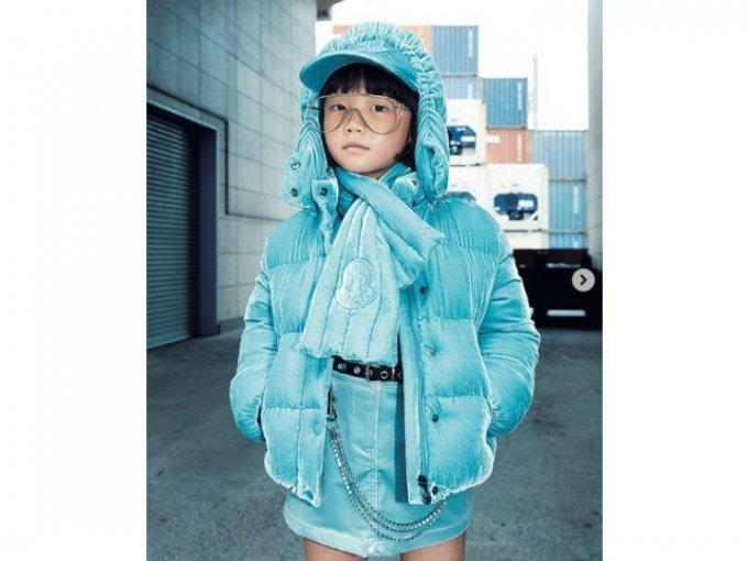 Coco es una de las niñas fashionistas más importantes de Japón. Tanto que ya apareció en la revista Elle.