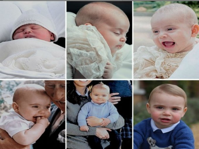 Louis, hijo de William y Kate