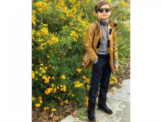 Comparte cuenta con su mamá, la mexicana Luisa Fernanda Espinosa y suman más de 575 mil seguidores.