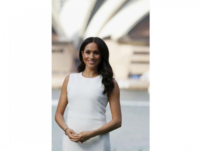 Meghan y Harry anunciaron su embarazo a mediados de octubre, meses después de haberse casado.