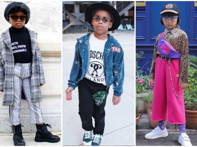 Estos niños han demostrado que para el estilo, no hay edad.