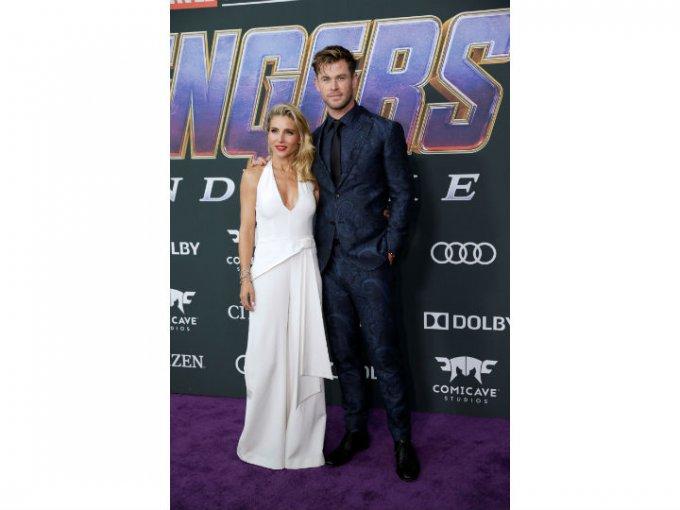 Chris Hemsworth usó un traje Etro.