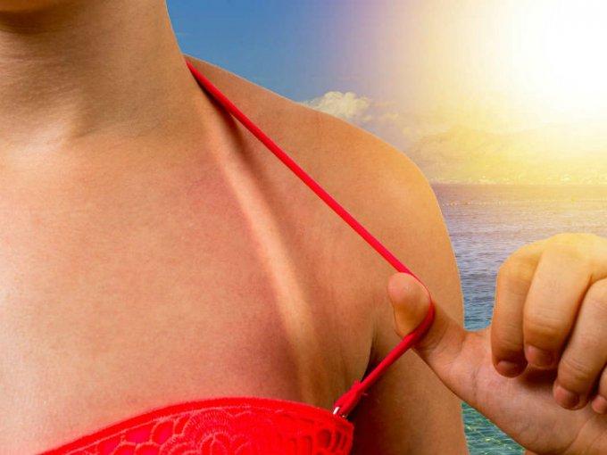 También debes fijarte en el Factor de Protección Solar o FPS, que es el número que indica cuánto tardará tu piel en ponerse roja.