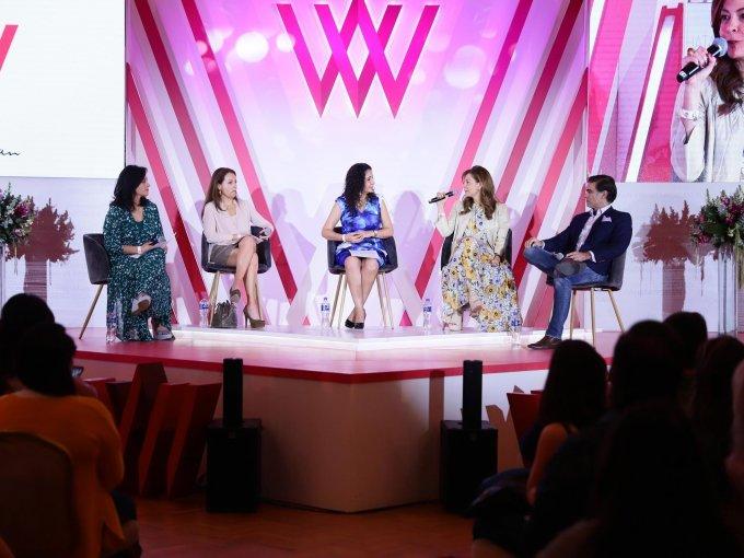 Cristina Ruiz, Mariana Campero, Esthela Gutiérrez, María Fernanda Suárez y Francisco Tobías