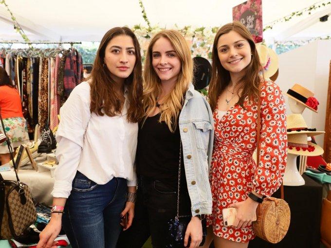 Daniela Valle, Natalia Villa e Isabel Suárez
