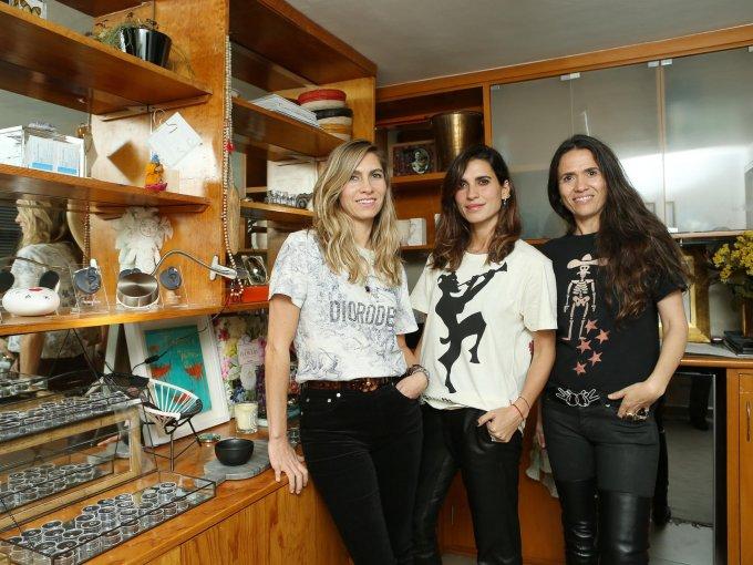 Nelia De Silva, Jana Sánchez-Osorio y Claudia Garciadiego