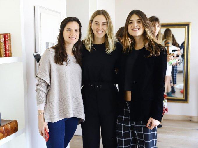 Carmen Quijano, Natalia Guerrero y Mariana Llano