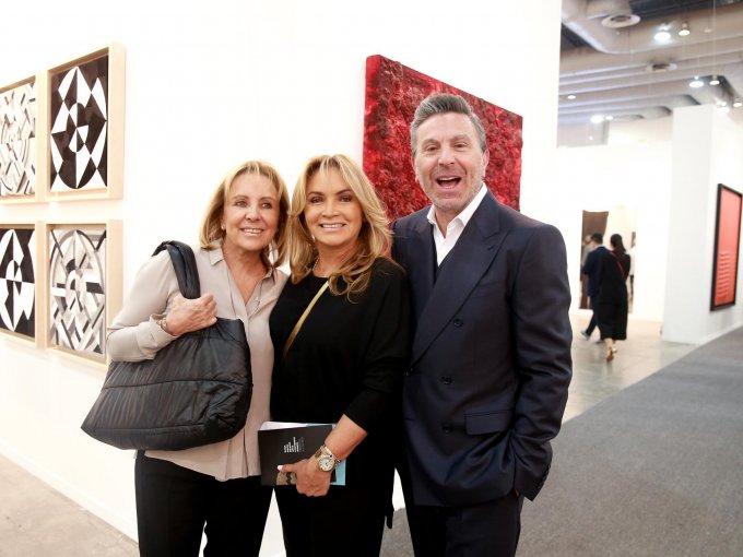 Andrea Ruenes, Rosaura Henkel y Rafael Micha