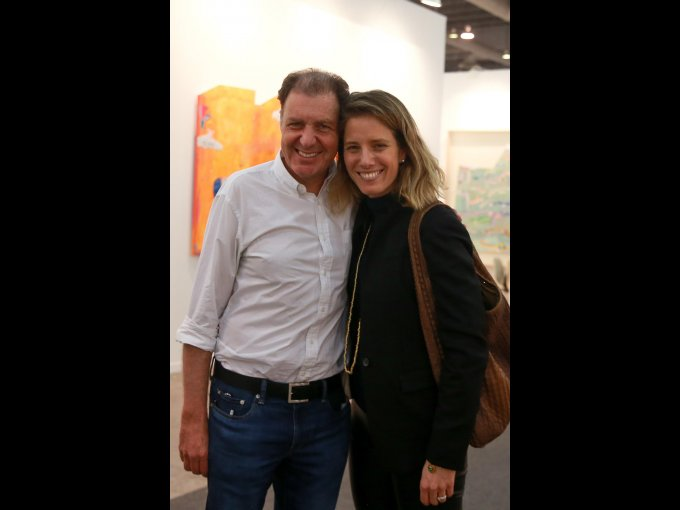 Simón con Sharon Fastlicht