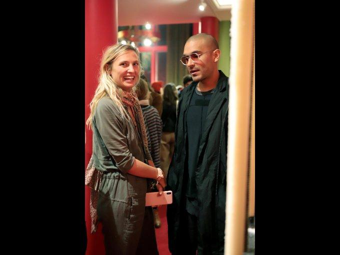 Miriam Arlar y Alex Capote