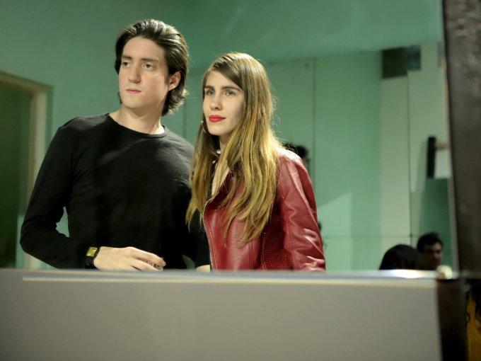 Federico Velarde y Rosa Garza