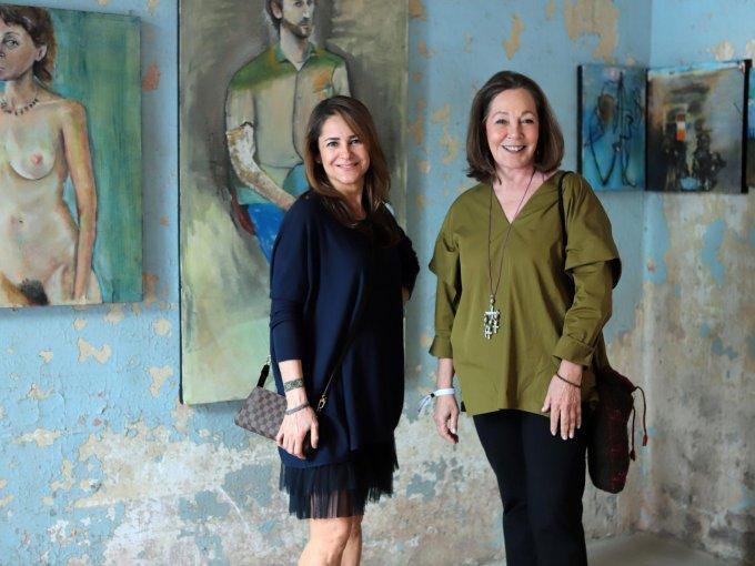 Marian Carrera y Pancha Reynaud