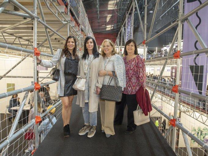 Lorenia Canavati, Cristina Martínez, Liliana Melo de Sada y Rosa María González de Dávila