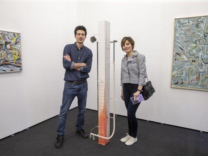 Alexis de Chaunac y Cristina Lobe