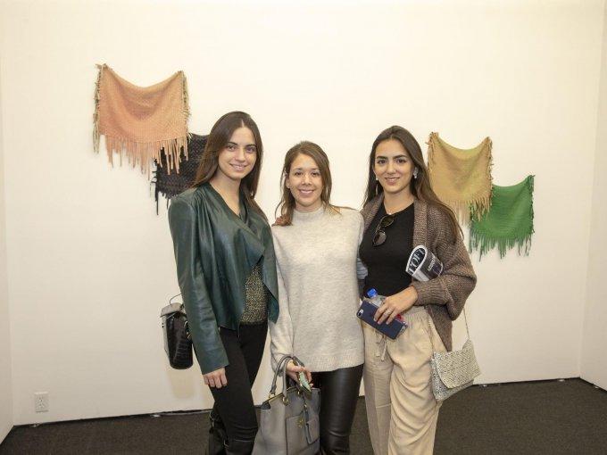 Paulina García, Marce Gómez y Megan Dalmau