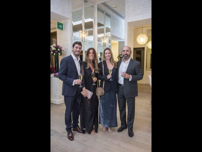Brian King, Clara Bakir, Megan Pepin y Horacio García